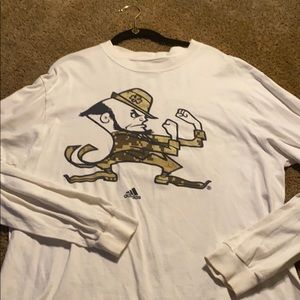 Notre Dame military shirt